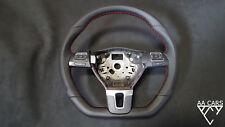 Steering Wheel VW Passat B7 CC T5 Flat Bottom Leather