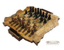 scacchiera in legno di ulivo 29 x 29cm