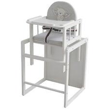 Roba Kombi Hochstuhl Heartbreaker Baby Kinder Tisch Stuhl Sitz Polster Holz Weiß