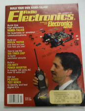 Radio Electronics Magazine Reflex Tester October 1992 FAL 062315R
