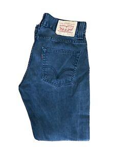 Original Levi's 506™ Classic Straight Leg Black Denim Jeans W32 L30 ES 8232