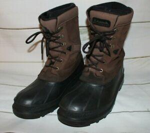 Men's 13 Kamik Brown Waterproof Thinsulate Winter Snow Boots