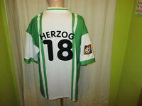 """Werder Bremen Puma Heim Trikot 1996/97 """"DBV winterthur"""" + Nr.18 Herzog Gr.XL TOP"""