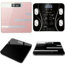 Digital Scale Body Fat Analyser Health BMI Weighing Scale 180KG Weight Loss Aid
