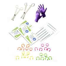 41-Pcs Body Piercing Kit for Nose, Lip, Tongue, Nipple, Belly I.P. 14G & 16G