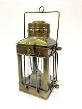 "11"" Antique Vintage Style Nautical Ship Lantern Oil Lamp Maritime Home Decor"
