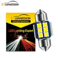 1PC Canbus DC 12V 29MM 3030 6 LED Festoon Dome Reading Light Bulb White 300LM
