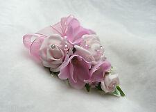 Wedding Flower Buttonhole Pink Rose & Freesia...... PIN ON