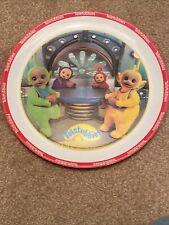 Vintage Teletubbies Plate 8 Inch 1998 Zak Plastic Kids Child Dish
