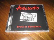 Adolescents - Brats in Battalions CD Punk Hard Rock - Tony Montana Rikk Agnew