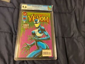 Venom, Sinner Takes All #3 comic from Oct.1995…CGC 9.6 White pages