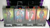 FigPin Contest of Champions Iron Man, Captain America, Star-Lord, Spider-Man new