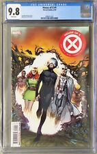 House of X 1 (Marvel) CGC 9.8 White Pgs 1st team appearance of Orchis, 1st print