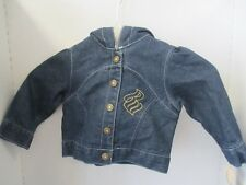 Rocawear Jeans Jacket 12M Blue 100% Cotton (NEW)
