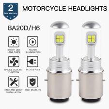 2x BA20D H6 LED Headlight Bulb For Husaberg FE390 FE350 FE250 FE450 FE570 TE125