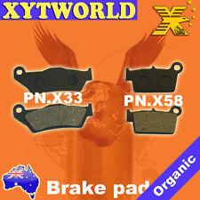 FRONT REAR Brake Pads TM T.M. EN 450 Fi 4T 2010 2011 2012 2013 2014 2015