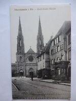 Ansichtskarte Oberehnheim Elsaß Katholische Kirche um 1900??