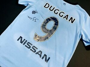 Manchester City TONI DUGGAN Signed Autographed Soccer Jersey England Lionesses