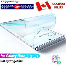Samsung Galaxy Note 8 9 10 + Plus Hydrogel Clear Full Coverage Screen Protector