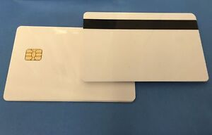 SLE5542 CHIP & Hi-Co Magnetic Strip CR80 Plastic Cards for all ID Card Printers