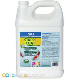 API Pond Stress Coat 1 Gallon Makes Tap Water Safe and Protects Fish