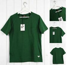 Camisetas de hombre verde 100% algodón talla XXL