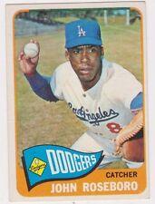 1965 Topps #450 John Roseboro - Los Angeles Dodgers, Near Mint Condition!