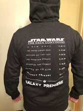 STAR WARS THE FORCE AWAKENS GALAXY PREMIERE EXCLUSIVE HOODIE THE LAST JEDI XL