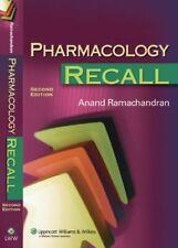 Pharmacology Recall Paperback Anand Ramachandran