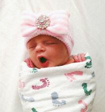 INFANTEENIE BEENIE, BABY GIRL HAT, newborn, baby, newborn hospital hat, pink