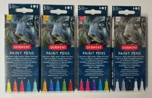 Derwent Paint Pens Markers Singles and Sets NEW