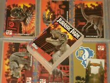 JURASSIC PARK 'Series1' Trading Cards Complete 88 Card Base Set & 11 Stickers