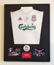 Robbie Fowler Liverpool FC Hand Signed Mounted Football Shirt