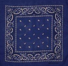 Bufandas y pañuelos de mujer de color principal azul 100% algodón