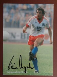 Wolfgang Felix Magath Hamburger SV HSV DFB 80er Satzkarte Autogrammkarte