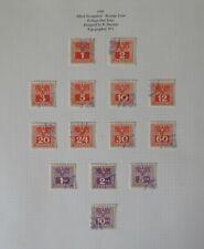 Austria. Fine used Postage Due 1945 set.