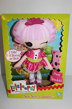lalaloopsy Sew Silly Chatters Jewel Sparkles I Talk Pull String Doll New