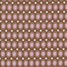 Half Metre Quilting Fabric ~ Riley Blake Daisy Cottage ~ Dots ~ Brown