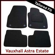 VAUXHALL ASTRA H Estate 2004-2010 Tailored Carpet Car Mats BLACK
