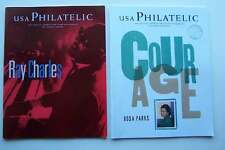 2013 USA Philatelic (Limited Edition) Courage Magazine Lot Featuring Rosa Parks