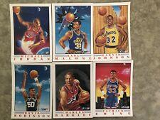 1991-92 FLEER PRO-VISIONS SET OF 6 Michael Jordan