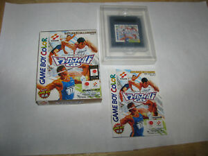Track & Field GB Game Boy Color GBC Japan import Complete in Box US Seller