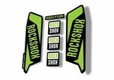 Rock Shox BLUTO 2018 Mountain Bike Cycling Decal Kit Sticker Adhesive Green