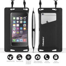 Fundas y carcasas color principal negro de poliéster para teléfonos móviles y PDAs