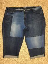 Lane Bryant Jeans Capri Plus Size 26 Womens Inseam 22 NWOT