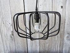 New PENDANT LIGHT Black Metal Sphere Diamond Hanging Ceiling Lamp Fixture
