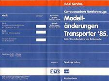 VW Bus T3 - Reparaturleitfaden Video - Änderungen Modell ´85