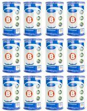 Intex Pool Easy Set Type B Replacement Filter Pump Cartridge (12 Pack) | 29005E