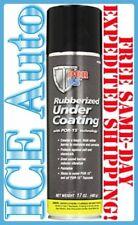 3-DAY SALE POR-15 49308 Rubberized Black Undercoating 17oz Aerosol Can Paintable