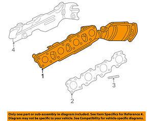 Infiniti NISSAN OEM 06-10 M45 4.5L-V8-Exhaust Manifold 14002CG210